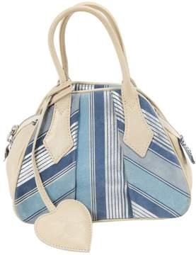 Vivienne Westwood Blue Suede Handbag