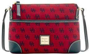 Dooney & Bourke Madison Signature Ginger Pouchette Shoulder Bag - CRANBERRY - STYLE