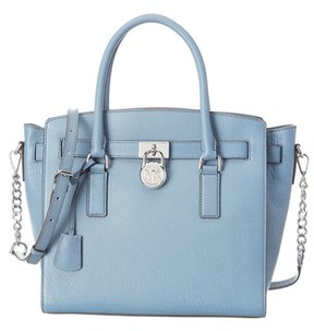 MICHAEL Michael Kors Hamilton Large East/west Satchel. - BLUE - STYLE