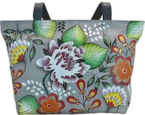 Anuschka Anna by Genuine Leather Convertible Large Tote | Hand-Painted Original Artwork |