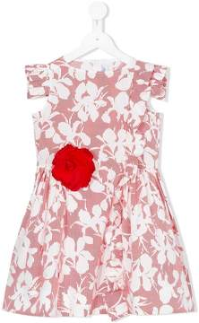 Simonetta corsage floral dress