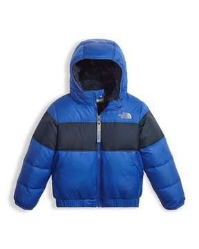 The North Face Boys' Moondoggy 2.0 Down Quilted Jacket, Blue, Size 2-4T