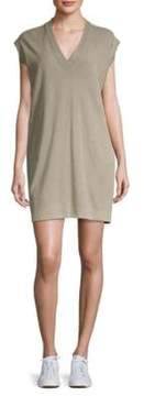 ATM Anthony Thomas Melillo Cotton V-Neck Dress
