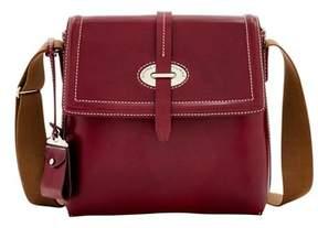 Dooney & Bourke Florentine Toscana Small Messenger Bag. - BORDEAUX - STYLE