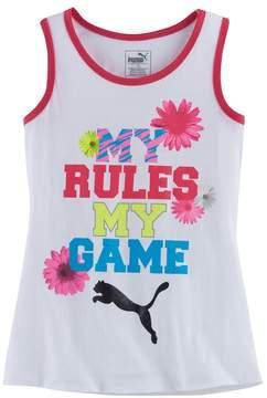 Puma Girls 7-16 My Rules My Game Tank Top