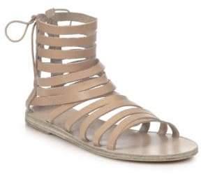Ancient Greek Sandals Galatia Leather Gladiator Sandals