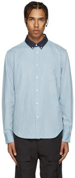 Rag & Bone Blue Yokohama Shirt