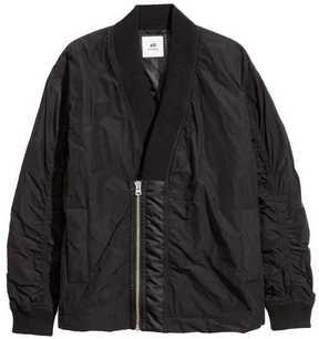 H&M Shawl-collar Bomber Jacket