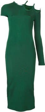 CHRISTOPHER ESBER dual strap single sleeve dress