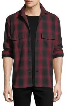 Marcelo Burlon County of Milan Iamens Check Flannel Shirt