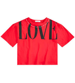 Beautees Big Girls Cropped Love T-Shirt