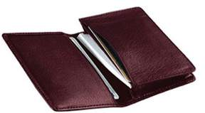 Royce Leather Unisex Deluxe Business Card Case 404-5.