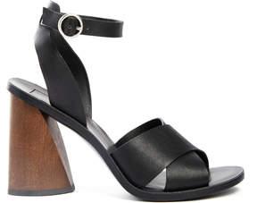 Dolce Vita Athena Wood Heel Sandal