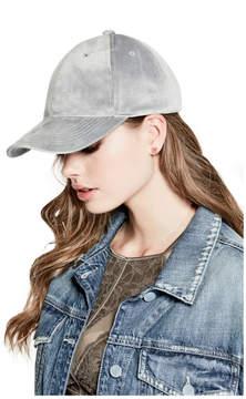GUESS Emma Velvet Baseball Hat