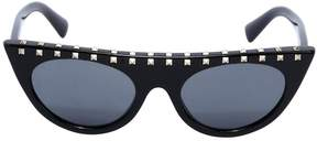 Flat Top Sunglasses W/ Studs