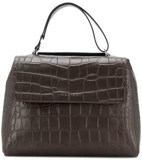 Orciani croc handbag