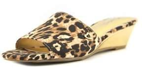 Thalia Sodi Riya Open Toe Canvas Slides Sandal.