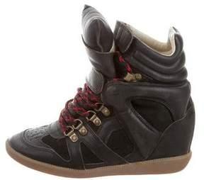 Etoile Isabel Marant Tibetan High-Top Sneakers