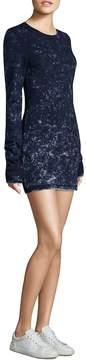 Cotton Citizen Women's Toyko Long-Sleeve Cotton Mini Dress