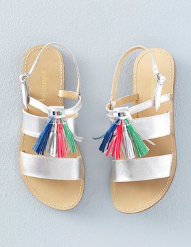 Boden Tassel Sandals