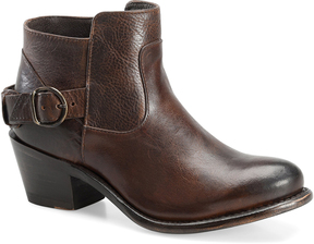 Sonora Brown Ella Leather Ankle Boot
