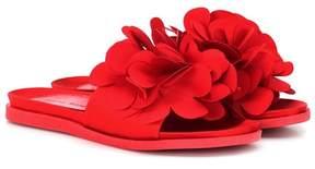 Simone Rocha Flower embellished slides