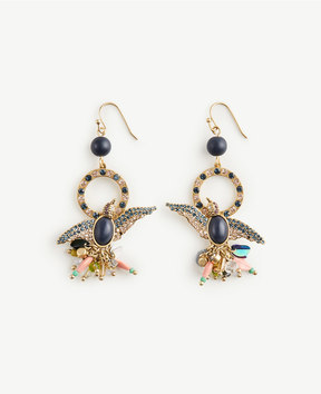 Ann Taylor Bird Statement Earrings