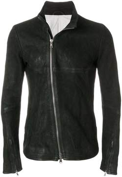 The Viridi-anne leather zip jacket