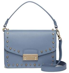 Furla Julia Studded Leather Shoulder Bag