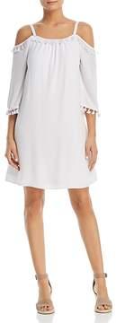 Design History Cold-Shoulder Tassel Dress