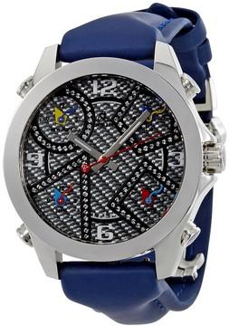 Jacob & co Five Time Zone Carbon Fiber Dial Watch