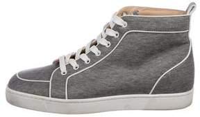 Christian Louboutin Rantus Orlato Woven Sneakers