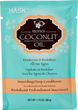 Hask Monoi Coconut Oil Nourishing Deep Conditioner Packette