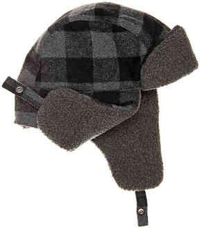 Levi's Men's Buffalo Check Trapper Hat