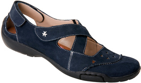 Ros Hommerson Blue Carrie Leather Mary Jane - Women