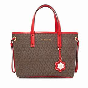 Michael Kors Carter Mini Tote - Brown/Begonia - ONE COLOR - STYLE