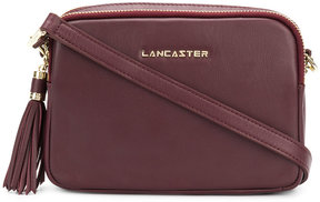 Lancaster double compartment small shoulder bag