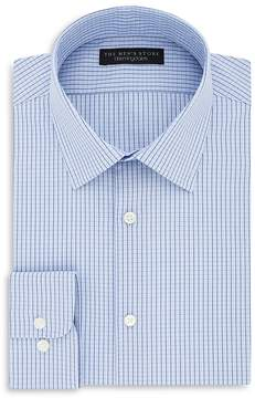 Bloomingdale's The Men's Store at Grid Regular Fit Dress Shirt - 100% Exclusive