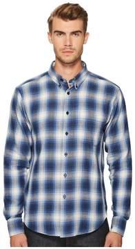 Naked & Famous Denim Ombre Flannel Shirt Men's Clothing