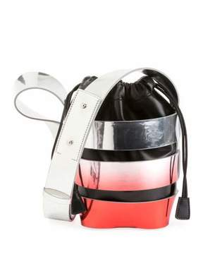 Paco Rabanne Cage Mini Ombre Hobo Bag