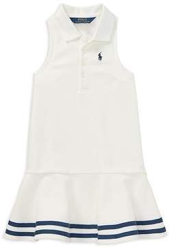 Polo Ralph Lauren Girls' Knit Polo Dress - Little Kid