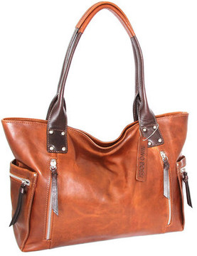 Women's Nino Bossi Tessa Leather Tote