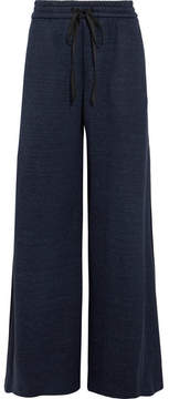 ADAM by Adam Lippes Jersey Wide-leg Pants - Navy