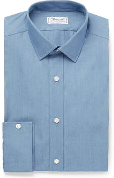 Charvet Blue Cotton-Poplin Shirt