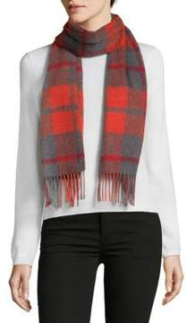 Saks Fifth Avenue Cashmere Plaid Scarf