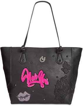 Betsey Johnson Patch Applique Medium Tote