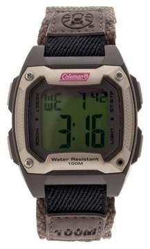 Coleman Men's Ana-Digi Strap Watch - Brown