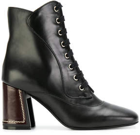 Marni lace up ankle boots