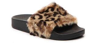 Steve Madden Girls Softey Youth Slide Sandal
