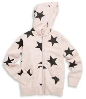 Nununu Little Girl's Star Cotton Hooded Jacket